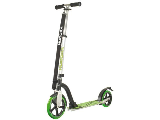 HUDORA Big Wheel - Trottinette Enfant - vert/noir